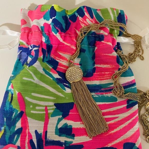 Jelly tassel necklace